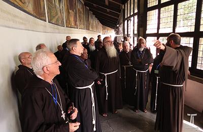 La Verna, Pellegrinaggio dei vescovi cappuccini, 2017.