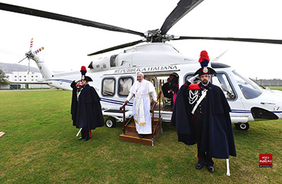 Papa Francesco a SGR 2018.03.17. - foto Voce di Padre Pio