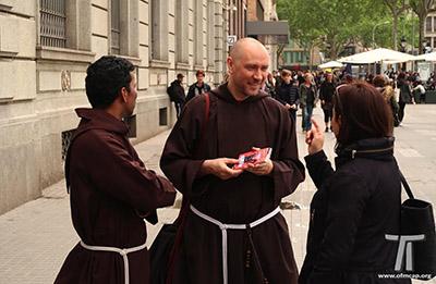 Cappuccini. Evangelizzazione di Barcellona