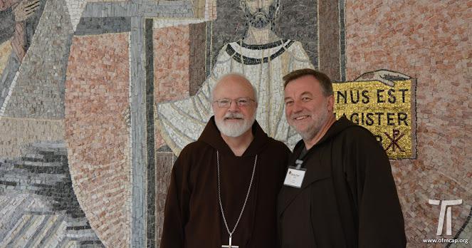 Visita del Cardinale O'Malley, 2108.09.12.