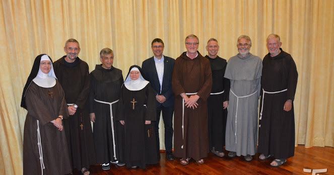 Visita dei rappresentanti francescani, 2018.09.13.