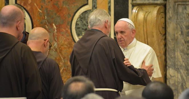 Cappuccini in Vaticano, 14.09.2018.