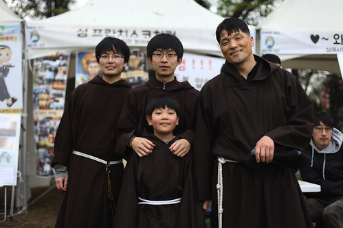 Capuchins in South Korea