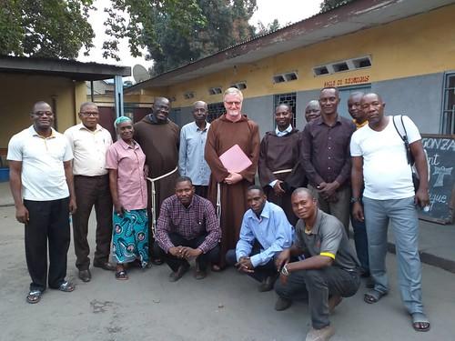 Congo, visita del Ministro Generale, settembre 2019