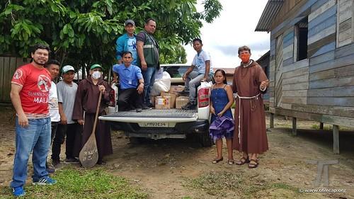 Freis Capuchinhos Pandemia Amazonas