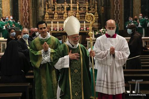 Presa di possesso della diaconia cardinalizia - Raniero Cardinale Cantalamessa OFMCap