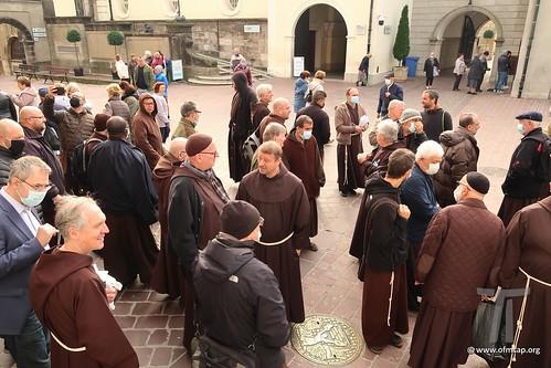 I Cappuccini in Europa - 14.10.2021. - Visita nel Santuario, Częstochowa, Polonia