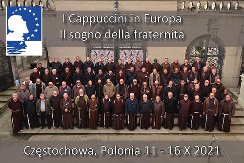 I Cappuccini in Europa 16.10.2021. Częstochowa, Polonia